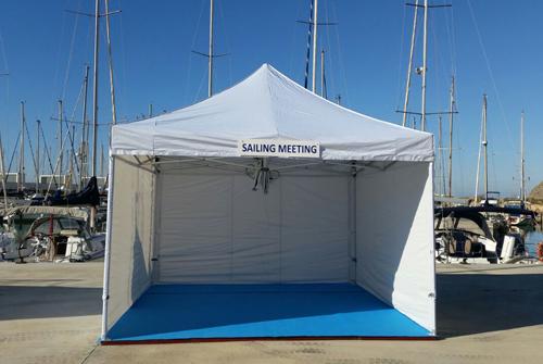 top tent plegables