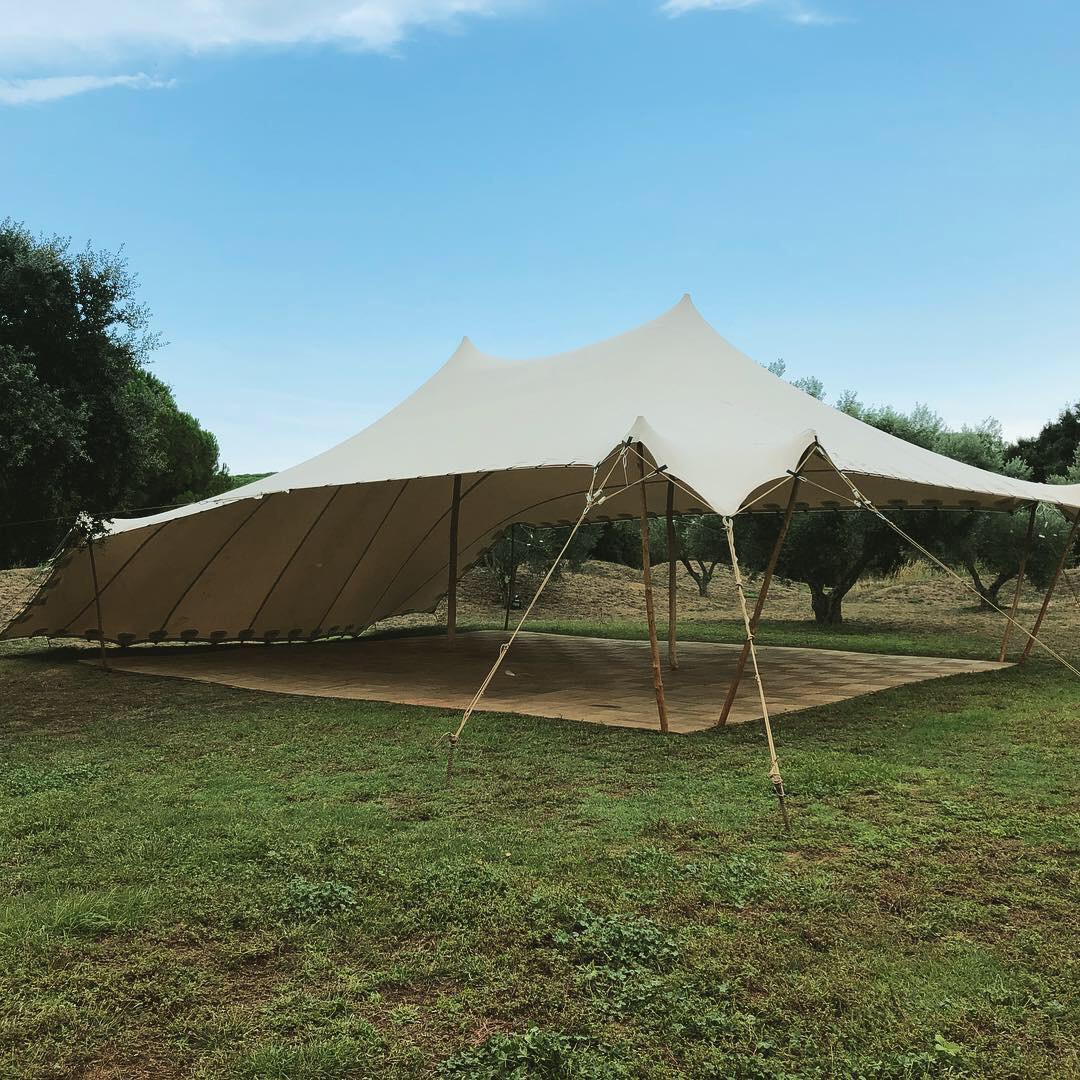 complementos Beduina eventos top tent