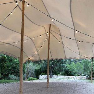 alquiler carpa beduina boda interior Top Tent