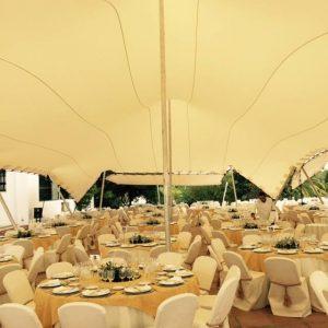 boda interior carpa beduina Top tent
