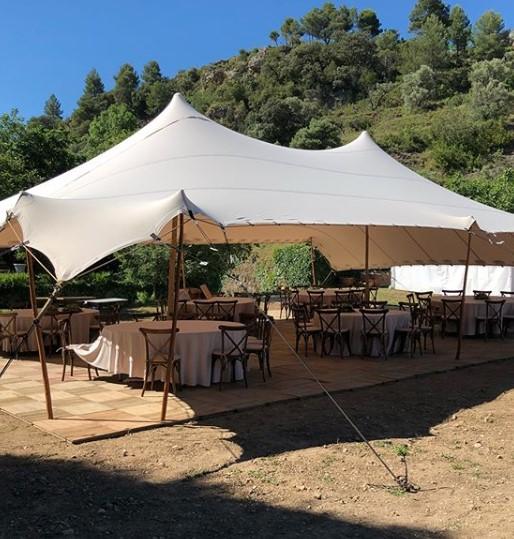 Tarragona carpa beduina boda alquiler Top Tent