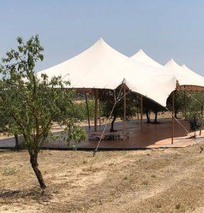 carpa beduina elementos arquitectonicos Top Tent alquiler