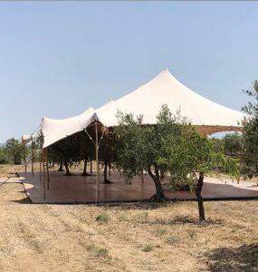 carpa beduina elementos naturales Top Tent