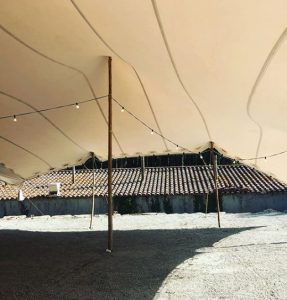 carpa beduina interior Boda Top Tent