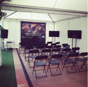 alquiler evento top tent