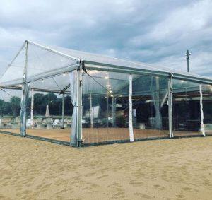 pabellon carpa playa boda Top Tent