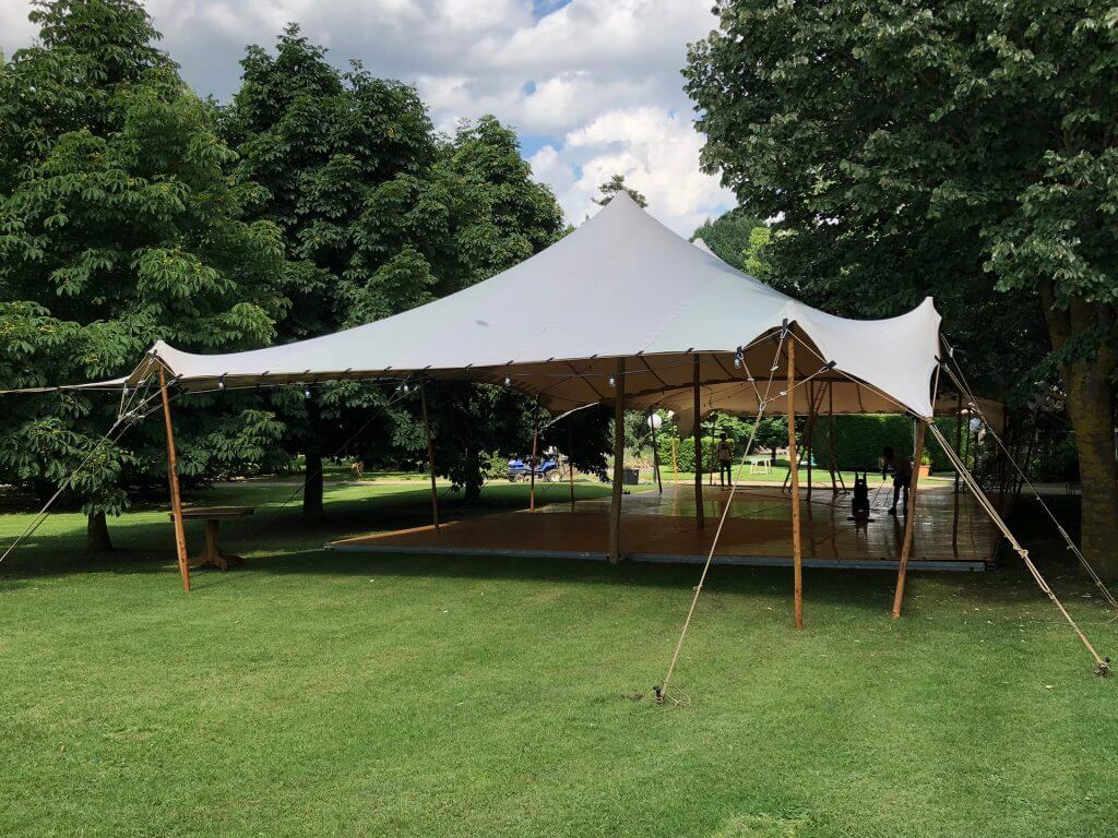 Beduina eventos carpa Top Tent tarimas