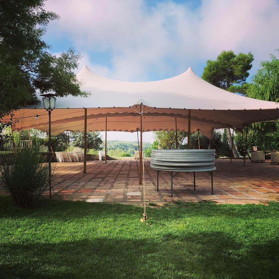 lleida alquiler de carpas Top Tent