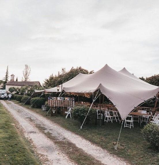 carpas beduinas alquiler boda Top Tent