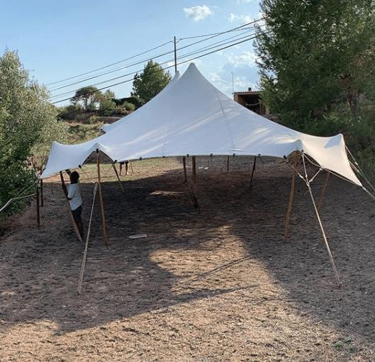 carpa beduina complementos eventos cal paradet