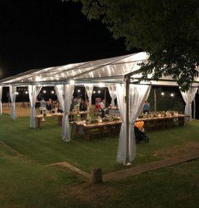 carpa pabellon alquiler Top Tent boda