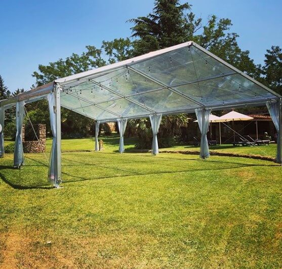 carpas eventos Top Tent