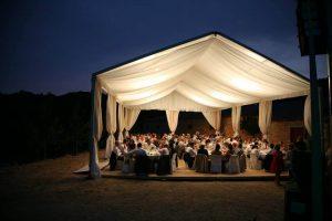 montajes de carpas pabellon top tent