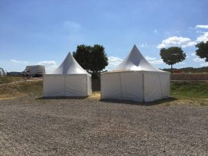 alquiler top tent evento