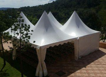 iluminación decorativa carpa pagoda top tent