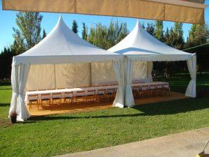 alquiler para eventos top tent