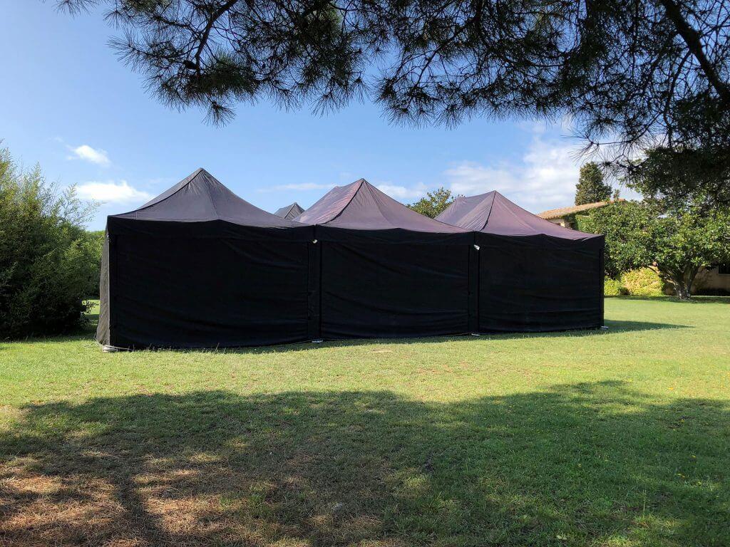 ventajas alquiler de carpas plegables Top Tent