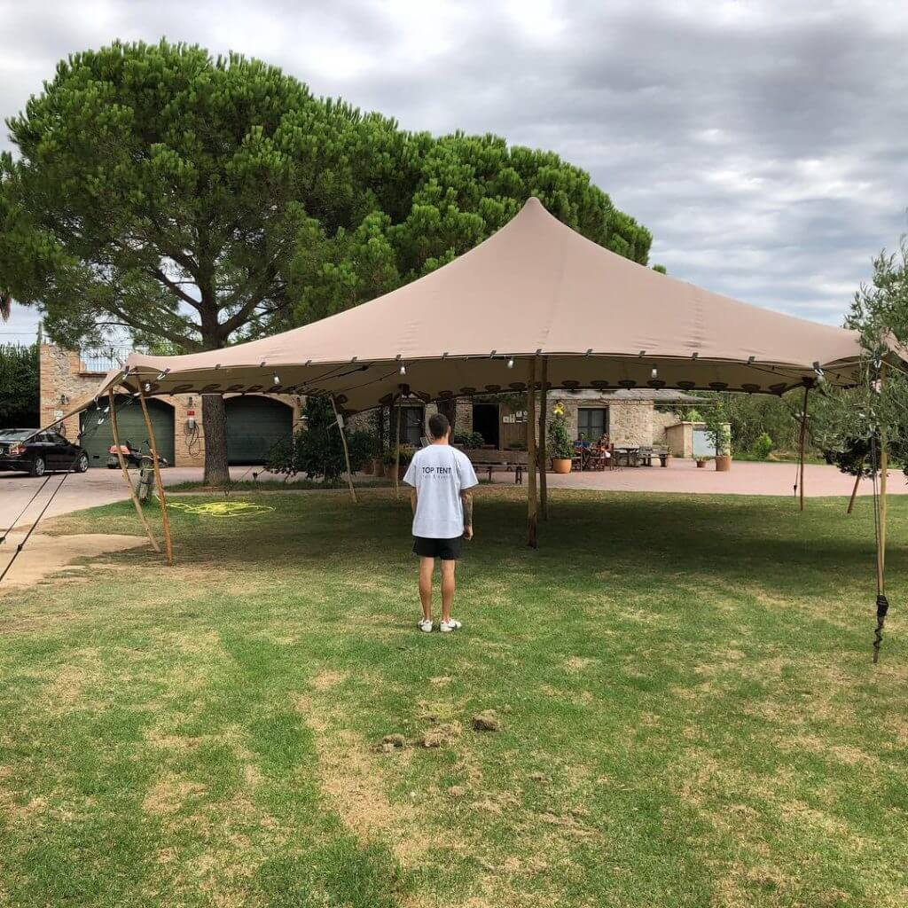 presupuesto online alquiler Top Tent