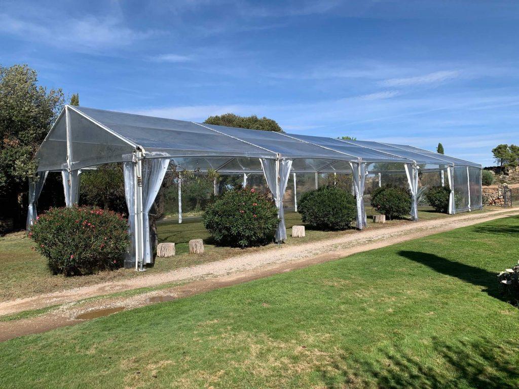 Carpa transparente pabellon top Tent