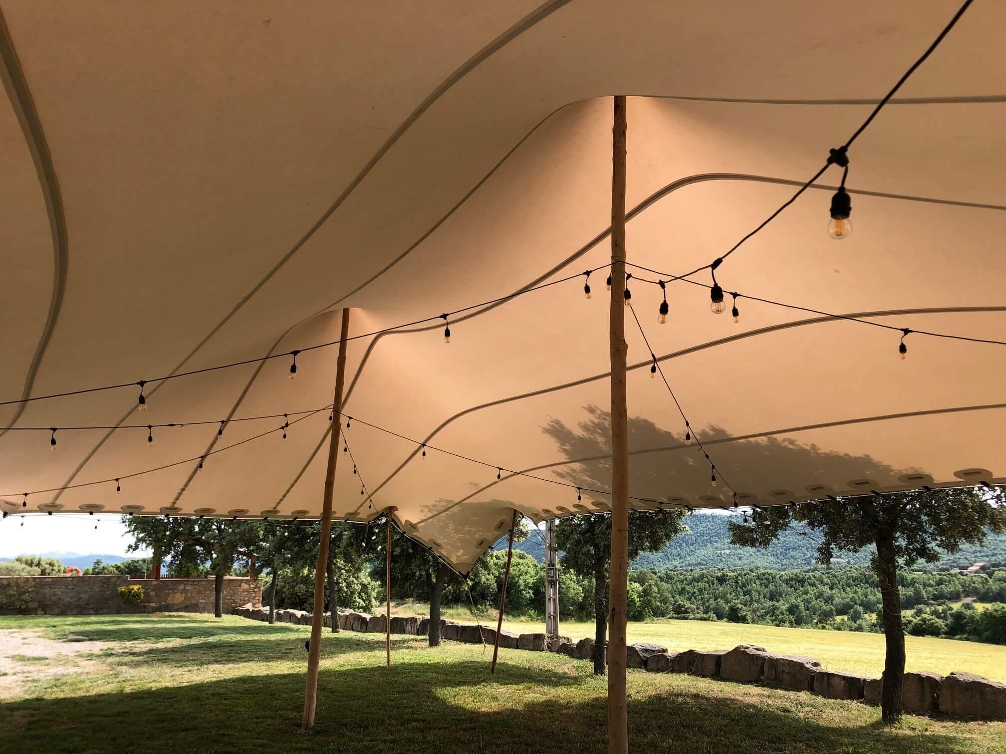 Top Tent iluminacion alquiler