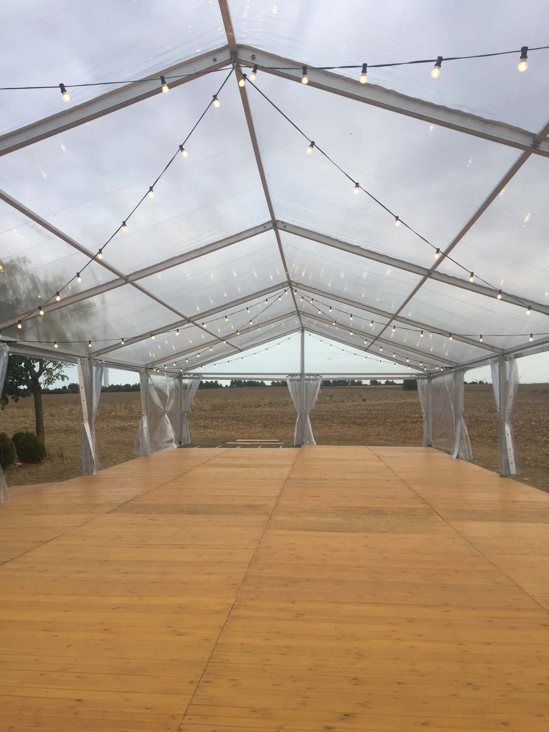 carpas transparentes top tent