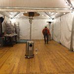 carpas almacenamiento top tent